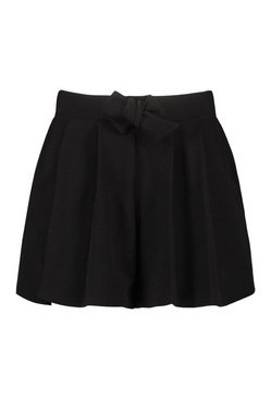 Stone Plus Box Pleated Tailored Shorts