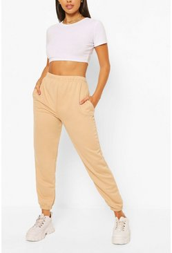 Stone beige Petite Casual Joggers