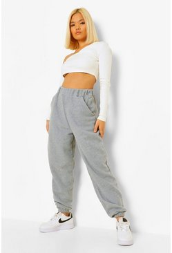 Grijs grey Petite Oversized Boyfriend Joggingbroek