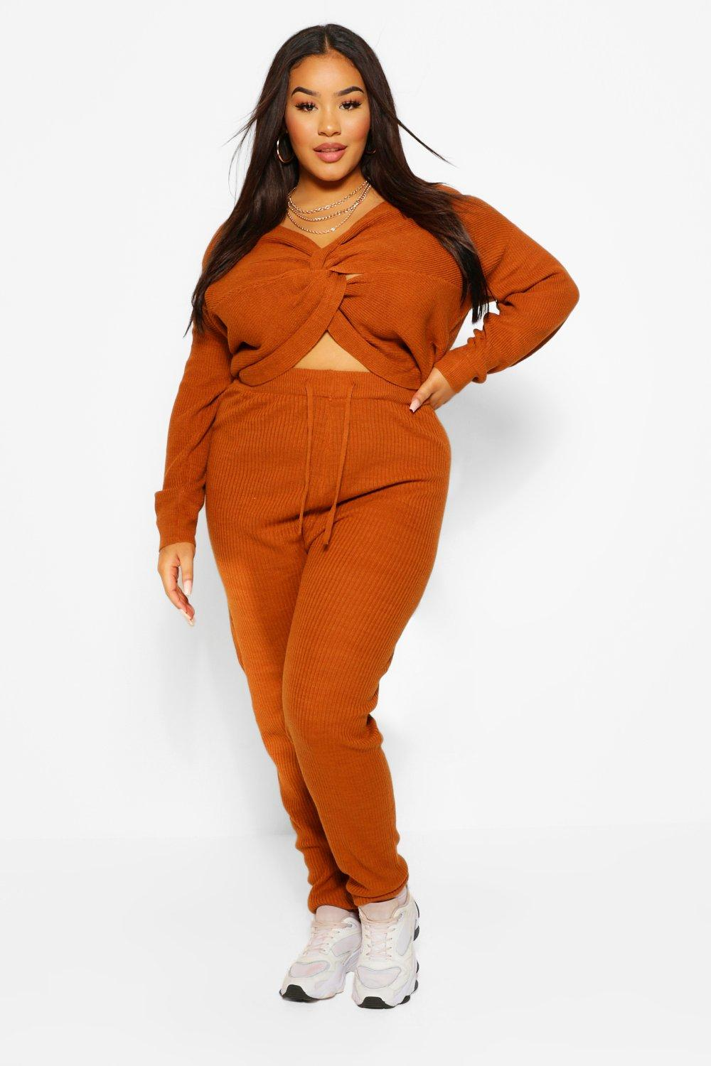 Plus Twist Jumper And Jogger Lounge Set 11