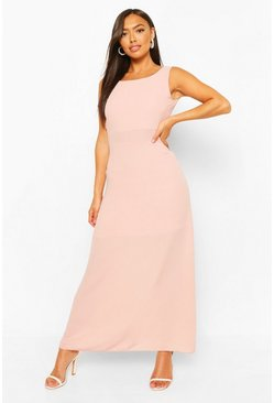 Blush pink Petite Occasion Maxi Dress