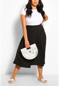 plus size kjol