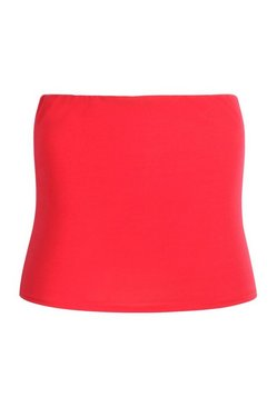 Red Plus Basic Tube Top