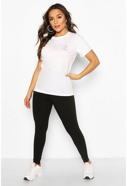 Black Petite Basic Legging