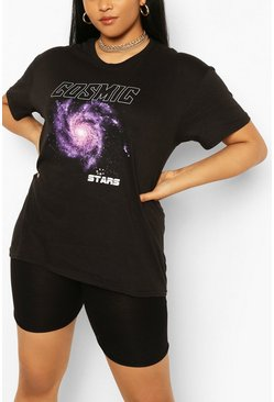 Black Plus Cosmic T-shirt
