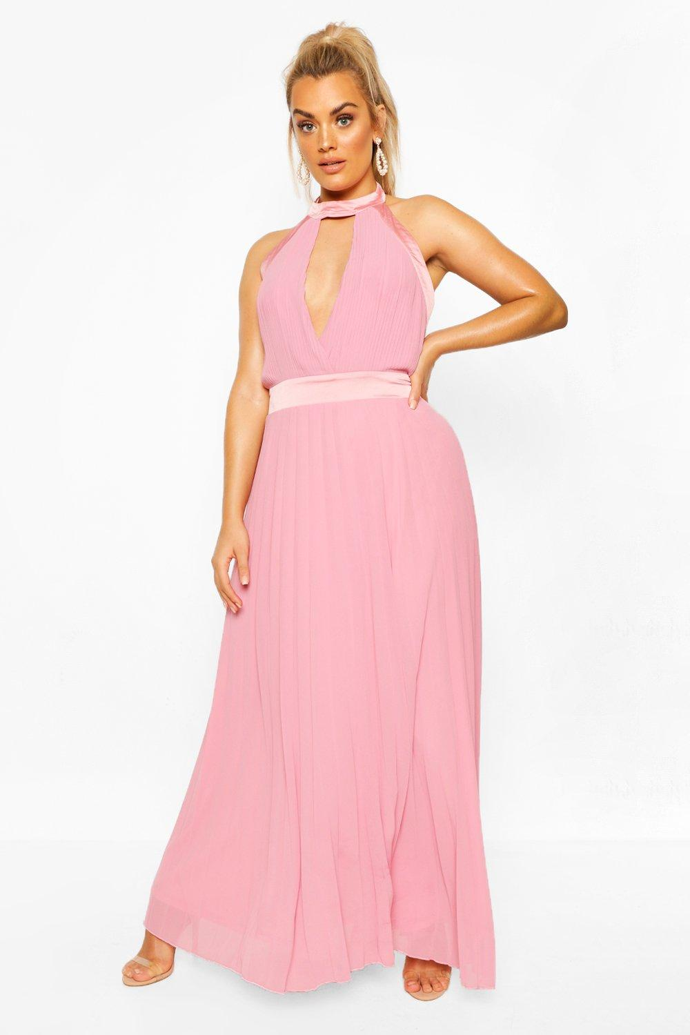 Plus Occasion Cut Out Occasion Maxi Dress 18