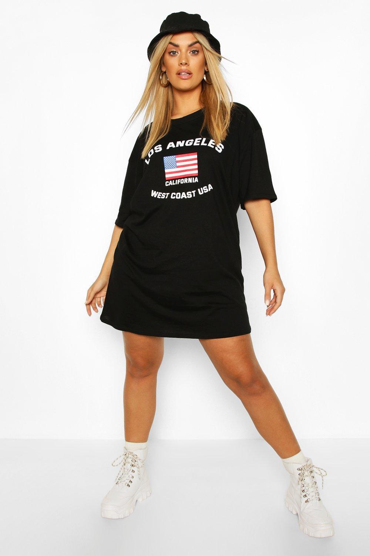 Plus Los Angeles Drop Armhole & Shirt Dress 8