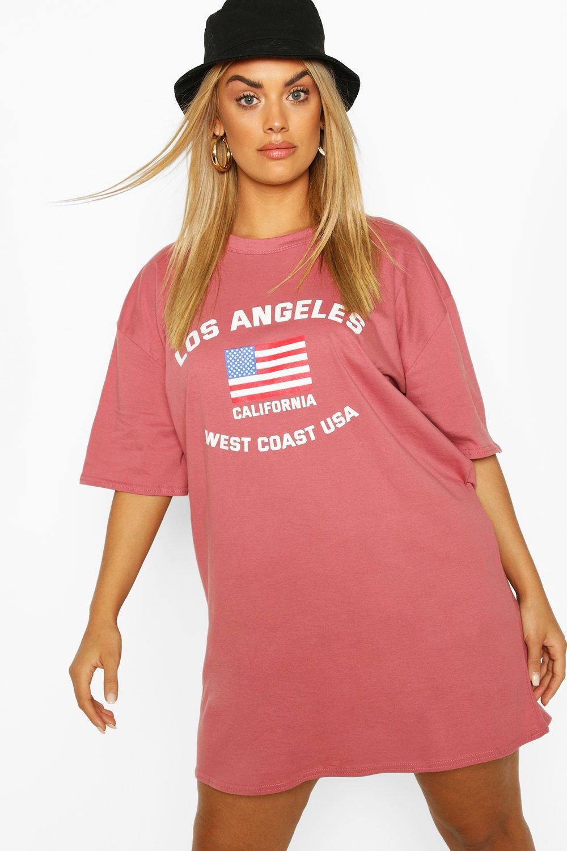 Plus Los Angeles Drop Armhole & Shirt Dress 7