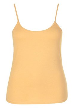 Nude Plus Basic Strappy Scoop Cami