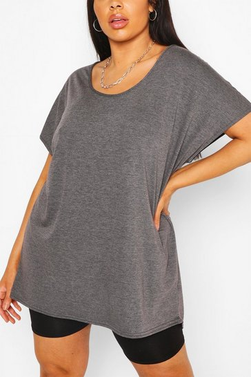 Charcoal Plus Oversized T-Shirt