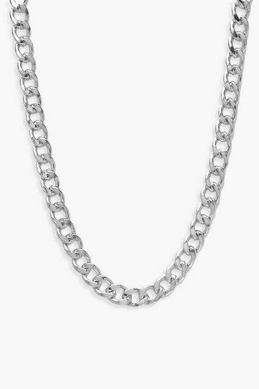 Silver Plus Simple Chain Choker