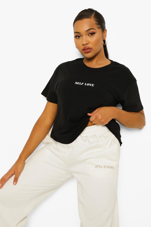 Plus Self Love Graphic T-Shirt 7