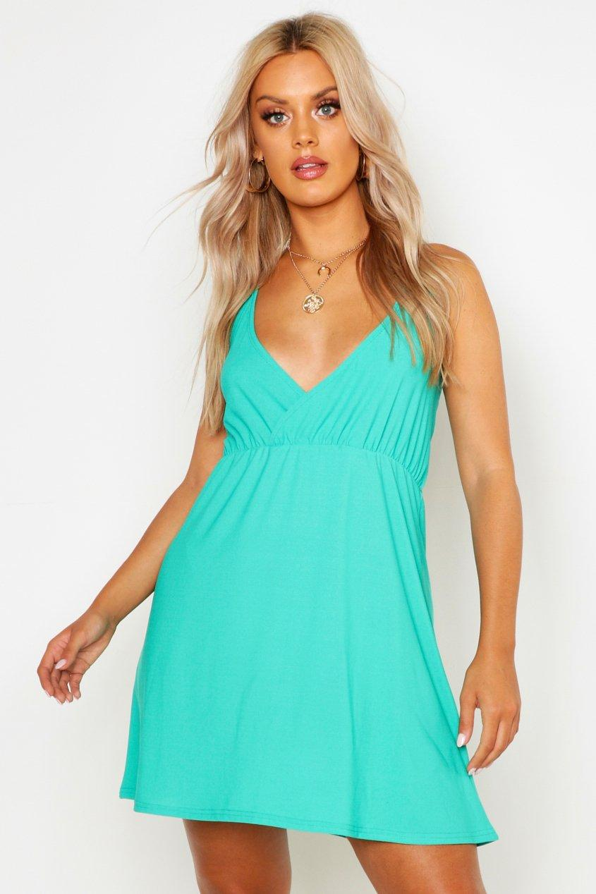 Plus Strappy Skater Sun Dress 2