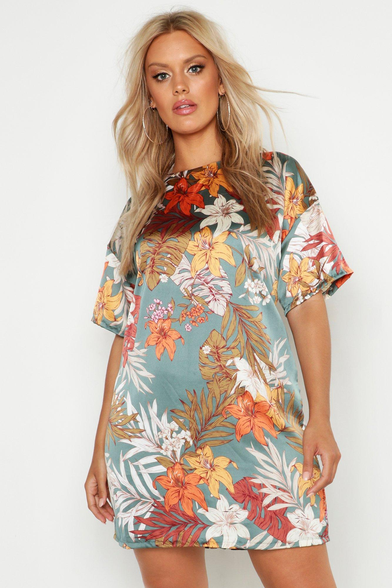 Plus 'Real Not Perfect' T-Shirt Dress 7
