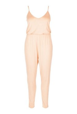 Blush Plus Basic Cami Jumpsuit