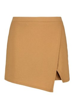 Camel Plus Cross Over Split Skort