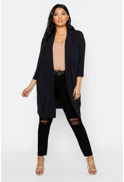 Black Plus Woven Pocket Duster