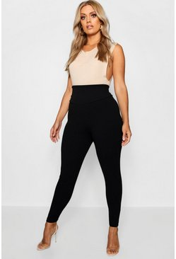 Khaki Plus High Waist Sculpt Leggings