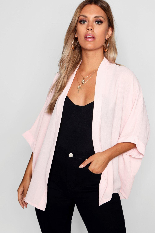 Plus Size Coats & Jackets Nude Plus Woven Kimono