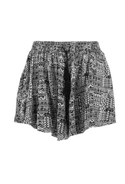 Multi Plus Woven Printed Short