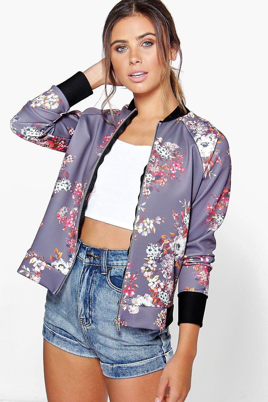 PETITE College Bomber Jacket | Miss