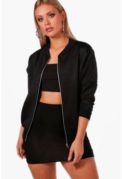Black Plus  MA1 Bomber