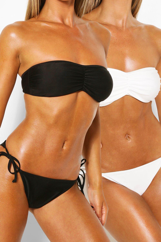 Swimwear Tie Side 2 Pack Bikini Brief