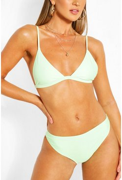 Mint green Mix and Match Itsy Bitsy Bikini Top