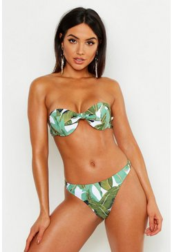 Green Mix & Match Beverly Hills Thong Bikini Brief