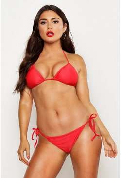 Red Bikiniset med triangeltopp