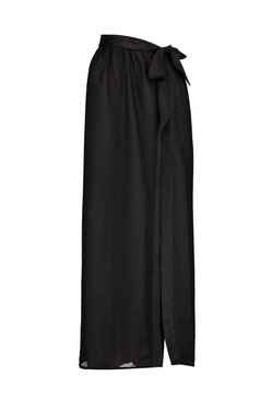 Black Paige Bridesmaid Embroidered Beach Sarong