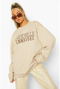 Sand beige Tall Knoxville Sweatshirt