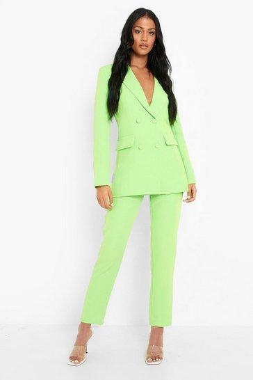 Neon-green neon Tall Neon Tailored Trouser