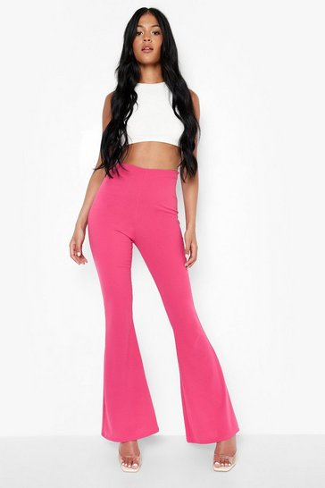 Pink Tall Tailored Flares