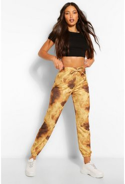 Brown Tall Tie Dye Joggers