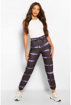 Purple Tall Tie Dye Joggers