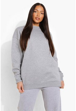 Grey Tall Oversized Sweater