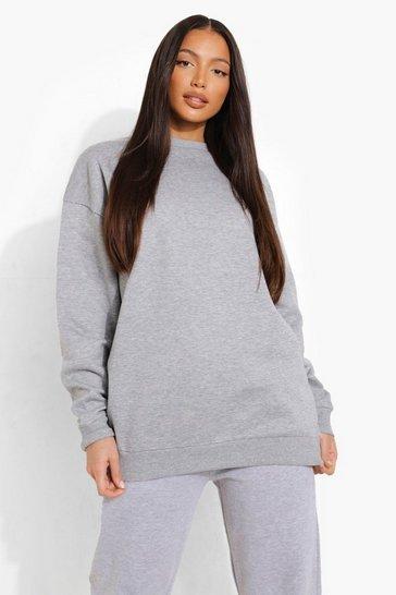 Grey Tall Oversized Sweater