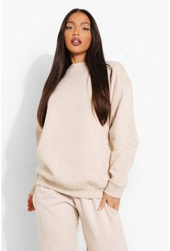 Stone beige Tall Oversized Sweater