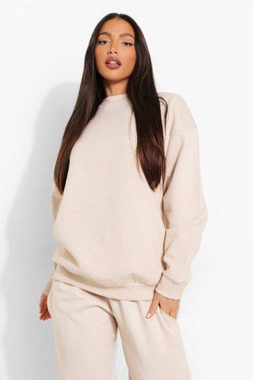 Stone beige Beige Tall Oversized Sweater