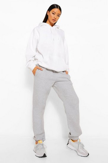 Grey Tall Basic Cuffed Hem Joggers