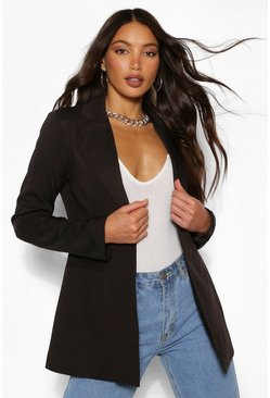 Black Tall Fitted Blazer