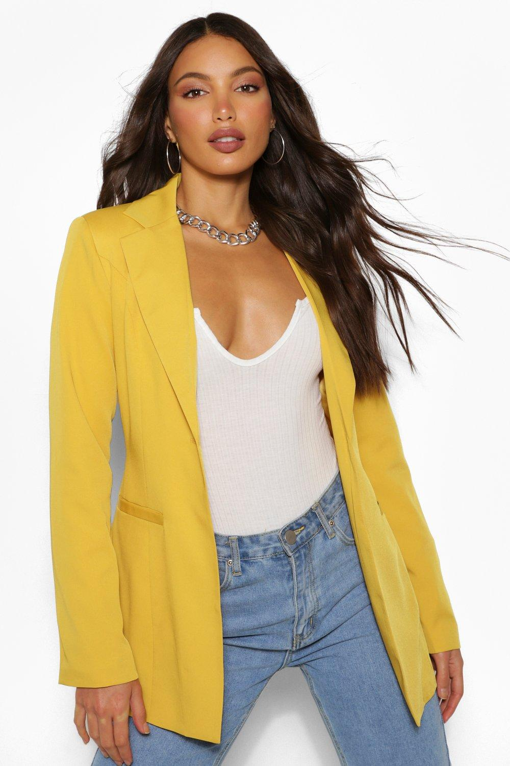 Tall Clothing Tall Fitted Blazer