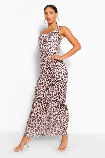 Tall Leopard Print Maxi Dress