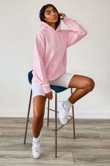 Pink Tall Basic Hoody