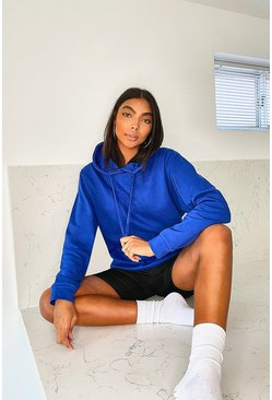 Tall Basic Blue Hoody
