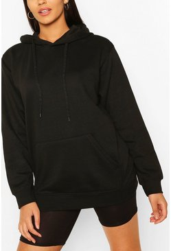 Tall Basic Black Hoody