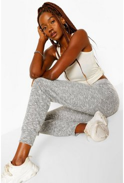 Grey Tall Lightweight Melange Lounge Joggers