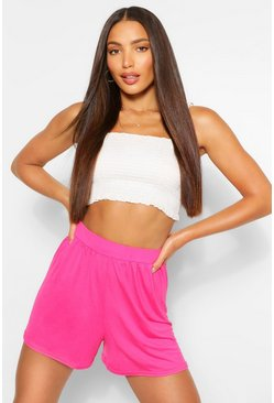 Hot pink pink Tall Basic Flippy Shorts