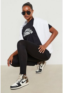 Black Tall Booty Boost High Waist Leggings